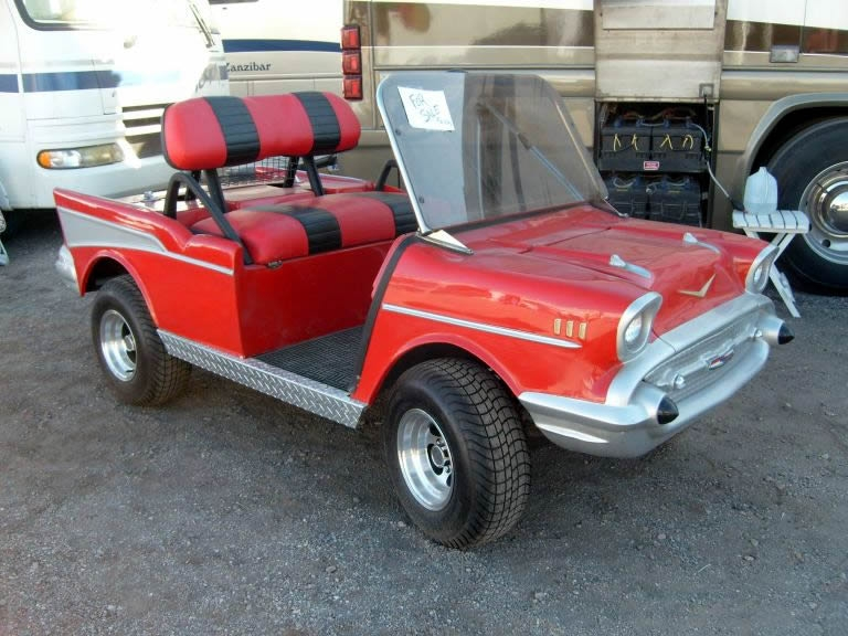 Want a golf cart with pizazz?