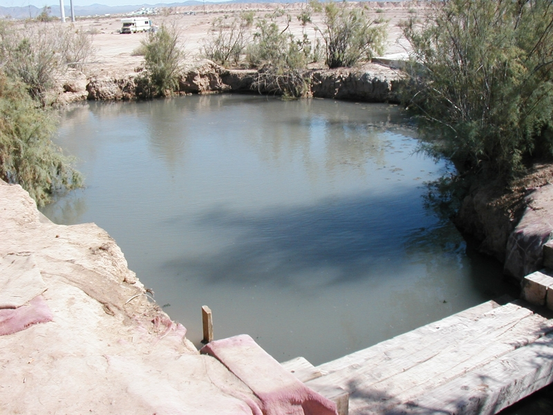 Slab City Thermal Spring