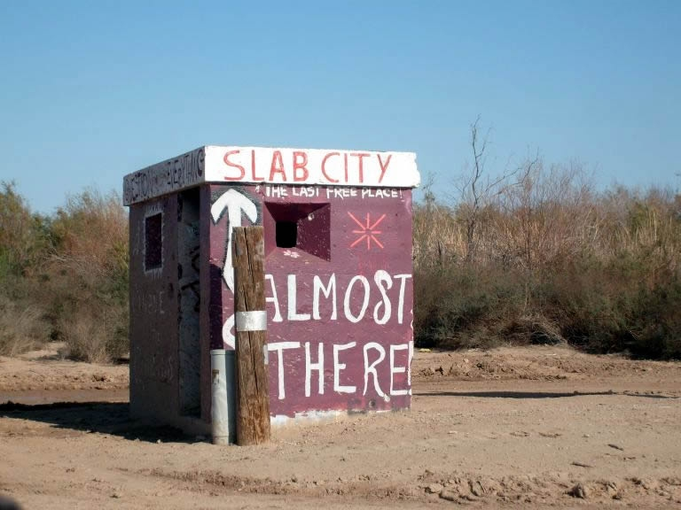 Entrance to Slab City