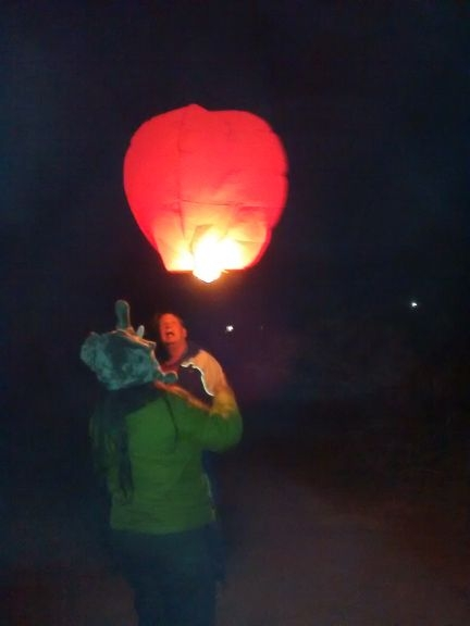 Launching balloons found at RV show