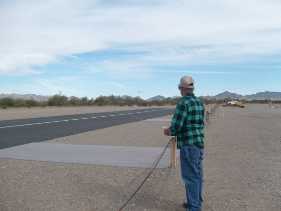 The fun of flying remote controlled