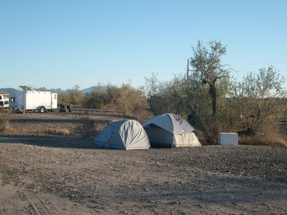 Tenting on the LTVA