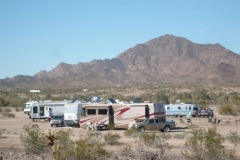 Group BLM camping