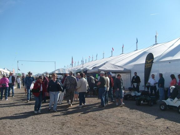 Outside the Big Tent